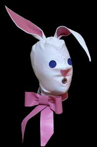 Fetish rabbit hood