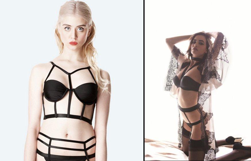 fake fetish fashion comparison - lingerie