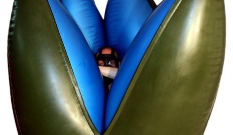 inflatable latex alien egg