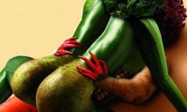 vegetables having sex