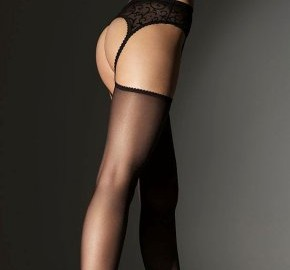 Lingerie and high heels