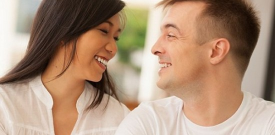 white man with asian woman