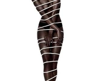 black girl in bondage