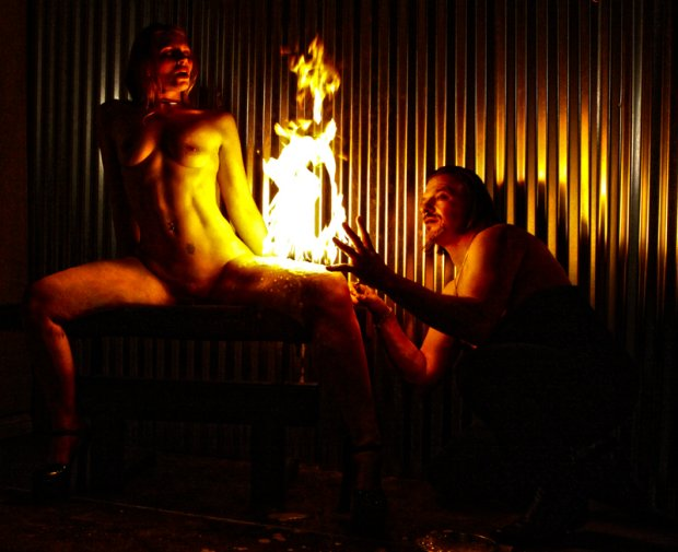 bdsm fireplay