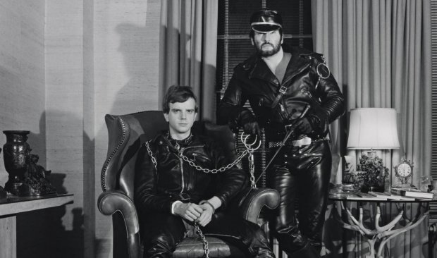 Mapplethorpe BDSM couple