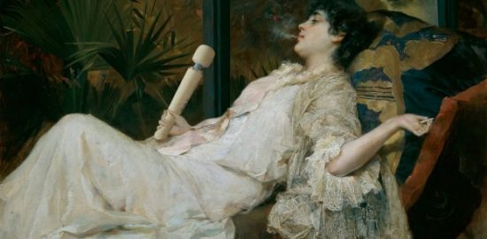 Magic Wand in classic paintings