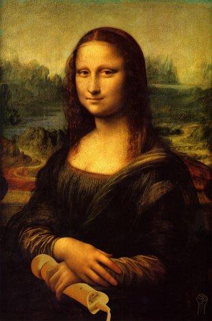 Mona Lisa with Magic Wand