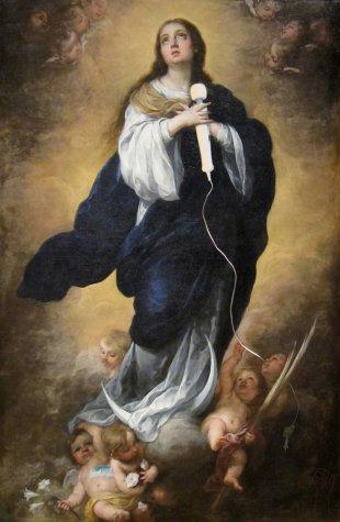 Madonna with Magic Wand