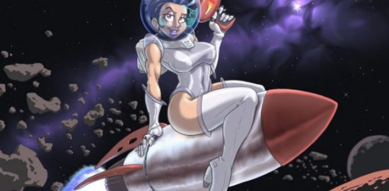 Space age pinup