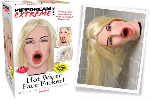 Hot water face fucker